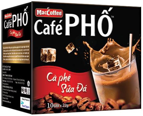Cà phê hòa tan Phố sữa đá Maccoffee