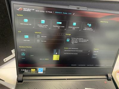 Asus ROG ZEPHYRUS S GX531GS (Core i7-8750H   Ram 24GB   SSD 1TB   15.6 inch FHD  RTX 1070 New