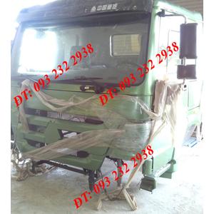 Bán Cabin xe Howo Tải thùng Đầu kéo Xe ben Trộn bê tông ....290 336 371 375 380 420 HP PS A7 H7 Howo