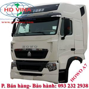Bán cabin xe Howo các loại model HW T7H A7 T5G tải thùng đầu kéo xe ben xe trộn....