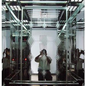 Cabin : Tấm lớn ở giữaI nox Hoa Văn (loại mới), xen Inox Gương hai bên