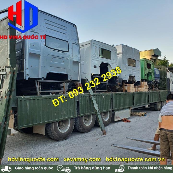 bán cabin xe tải chenglong howo faw jac camc, hàng có sẵn, công ty lớn nhất Hà Nội