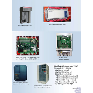 Các loại PLC & biến tầng VVVF