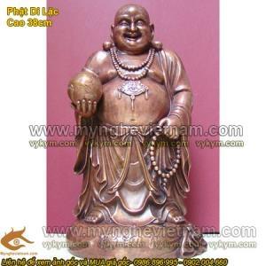 Các mẫu tượng Phật Di Lạc bằng đồng