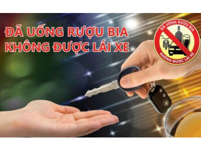 Các mức độ xử phạt lái xe tham gia giao thông có nồng độ cồn