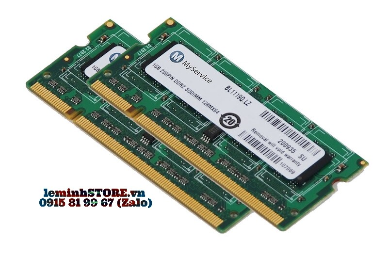 RAM laptop cũ để chơi Game