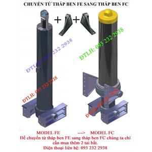 Cách đổi từ tháp ben FE sang tháp ben FC, đổi từ tháp ben không có vỏ sang có vỏ, thay tháp ben ,...