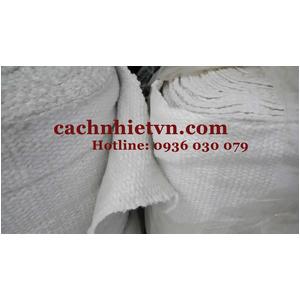Vải ceramic chịu nhiệt cao dùng cho hệ thống bảo ôn ống gió khí nóng
