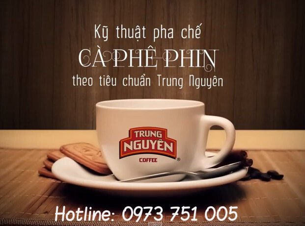 cach pha ca phe phin trung nguyen