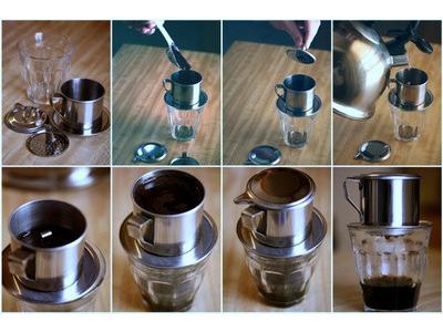 Cách pha cà phê phin ngon đúng điệu