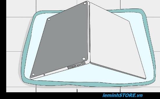 laptop vô nước cách xử lý