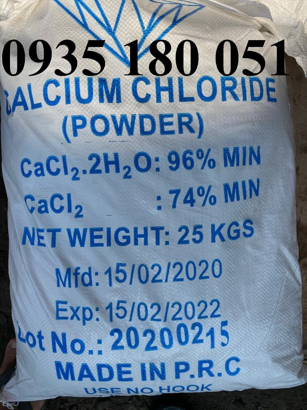 Canxi clorua CaCl2