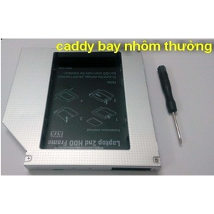caddy bay 12.7mm loại nhôm