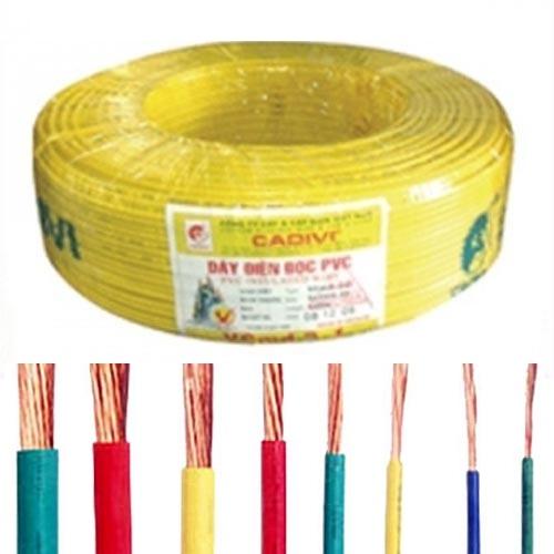 Dây điện bọc nhựa PVC