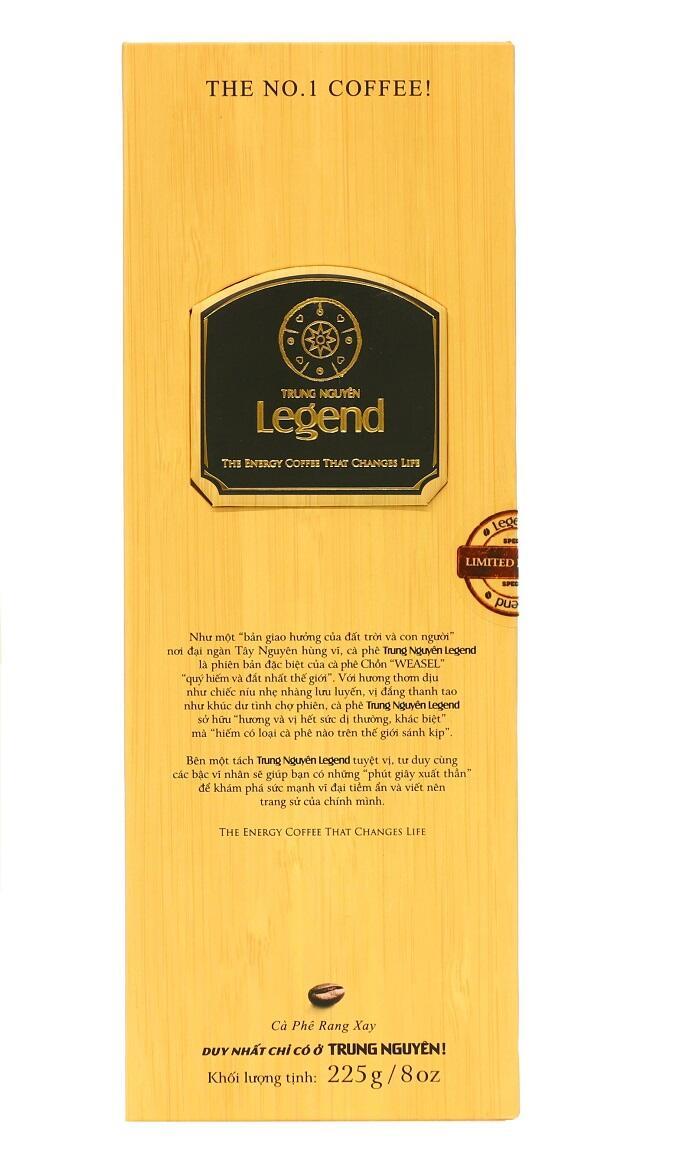 Cà phê Legend, hộp quà tặng cao cấp