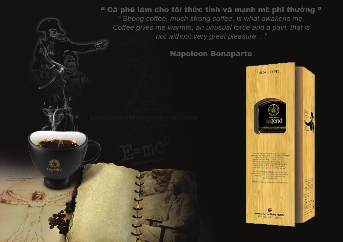 cà phê chồn legend trung nguyên 225g