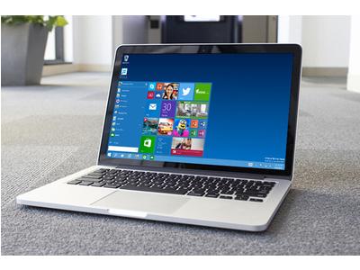 Cài đặt Windows 10 cho MacBook với chỉ vài cú click chuột