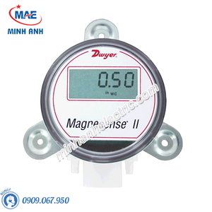 Cảm biến áp suất gió range 25,40,50,125 Pa, 0-10V hoặc 4-20mA có màn hình LCD - Model MS2-W101-LCD