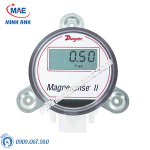 Cảm biến áp suất gió range 25,40,50,125 Pa,0-10V hoặc 4-20mA có màn hình LCD - Model MS2-W111-LCD
