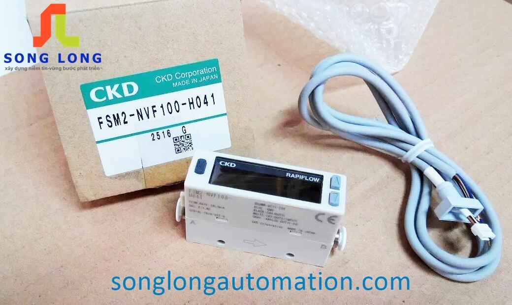 CẢM BIẾN LƯU LƯỢNG CKD FSM2-NVF100-H041