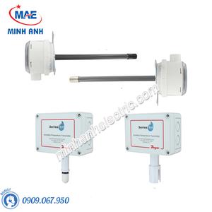 Cảm biến nhiệt độ và độ ẩm gắn ống gió tín hiệu 4-20mA - Model RHP-3D11