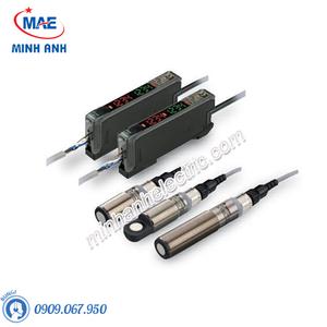 Cảm biến siêu âm - Model E4C-UDA hình trụ Ø18mm kim loại