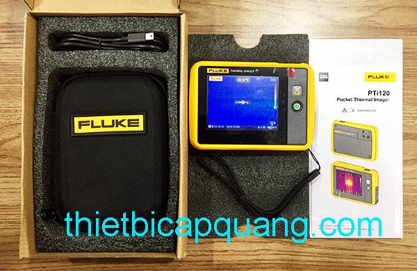 Camera đo nhiệt Fluke PTi120 giá rẻ năm 2020
