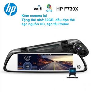 Camera hành trình cao cấp HP F730X, camera lùi, WiFi GPS, cảnh báo làn đường