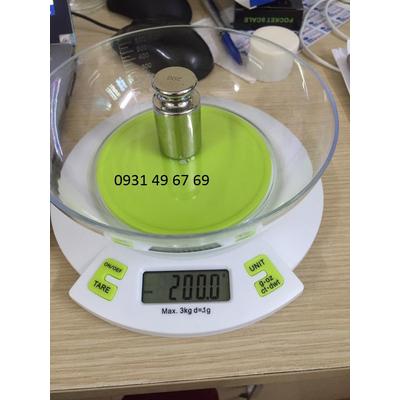 Cân điện tử làm bánh 3kg CNB301