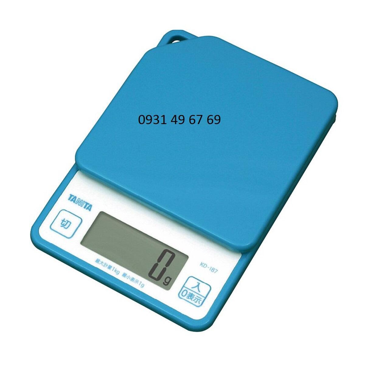 Cân điện tử 1kg Tanita KD-187