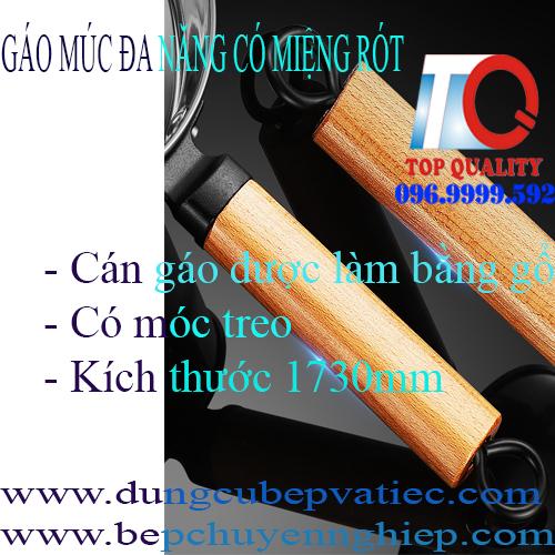 Khay GN inox , cont inox. cont nhựa đen, gáo đa năng, gáo cán gỗ