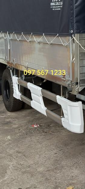 cản hông inox xe tải