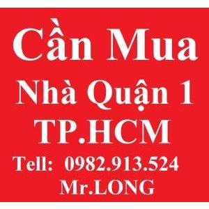 Cần Mua Nhà Quận 1, Q1, TPHCM