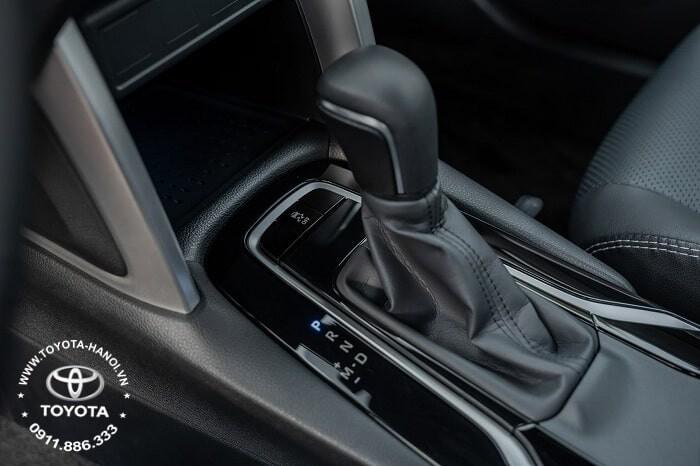 Hộp số tự động vô cấp CVT trang bị trên xe Corolla Cross 1.8G 2021 máy xăng