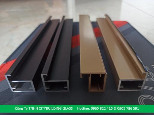 Thanh Nhôm Cánh Kính 20 X 20mm