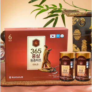 CHIẾT XUẤT HỒNG SÂM HÀN QUỐC & ĐÔNG TRÙNG HẠ THẢO 365 KOREAN RED GINSENG & CORDYCEPS GOLD
