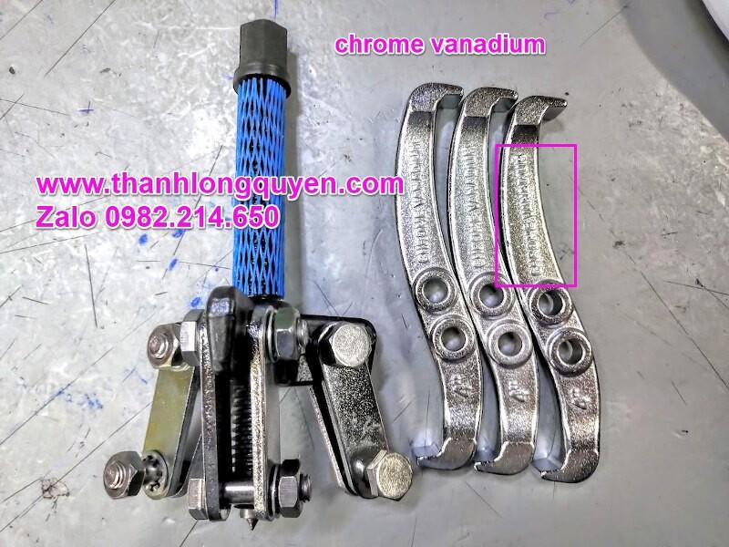 Cảo 3 chấu 4 inch Wetools Chrome Vanadium, Vam 3 chấu 4 inch