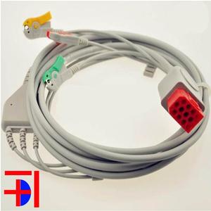 Cáp điện tim Bionet 12 pin