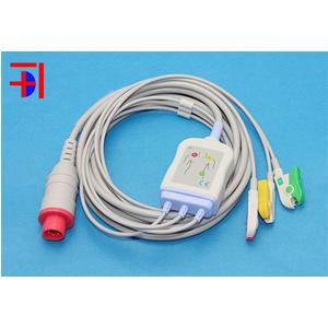 Cáp điện tim Bionet 8 pin