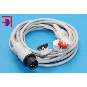 Cáp điện tim Medtronic Physio Control 6 pins