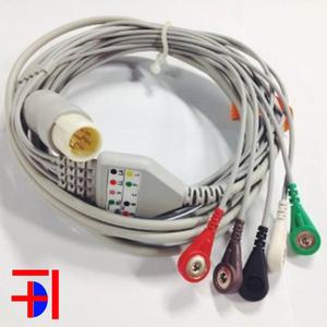 Cáp điện tim Philips 8 pin