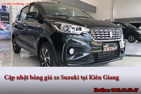 Cập nhật bảng giá xe Suzuki tại Kiên Giang