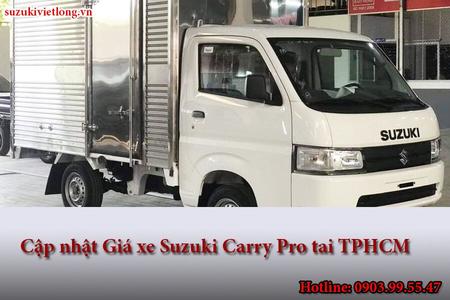 Cập nhật Giá xe Suzuki Carry Pro tai TPHCM