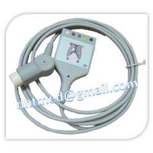 Cáp nối cáp điện tim HP AA M1520A, M1530A, 5 lead