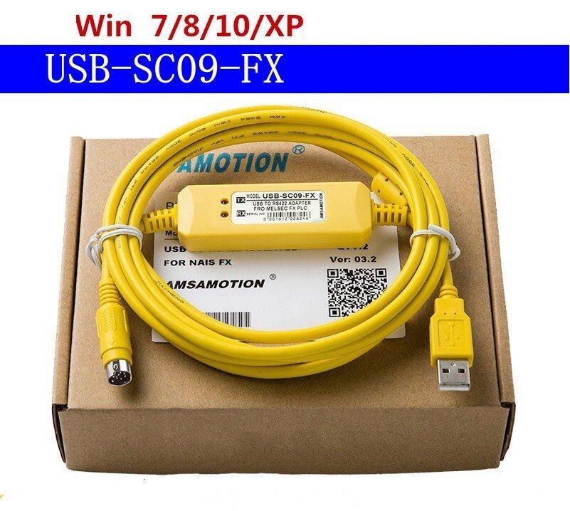 Cáp lập trình USB SC09 FX cho PLC Mitsubishi FX