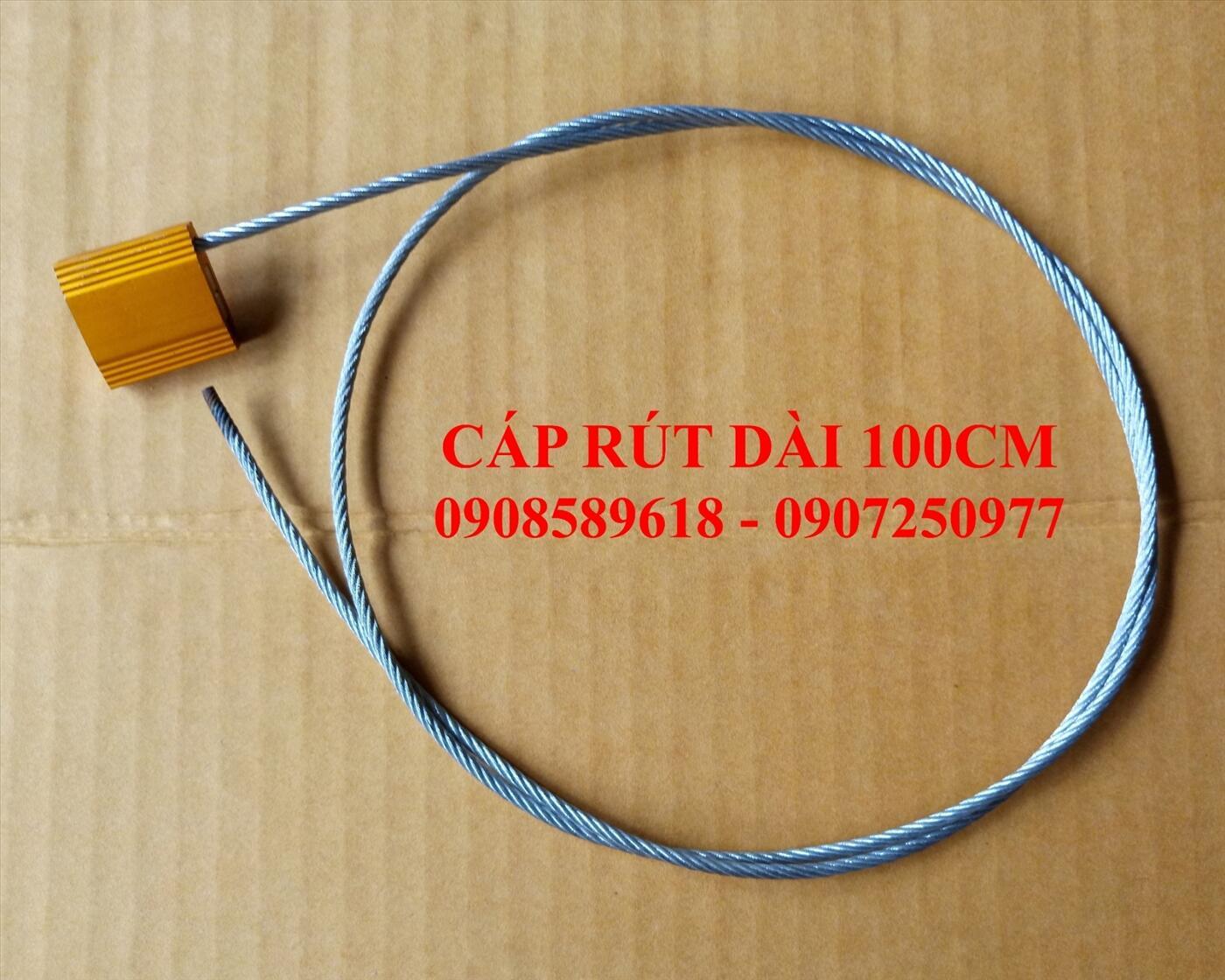 Seal dây cáp rút bản nhôm 100cm
