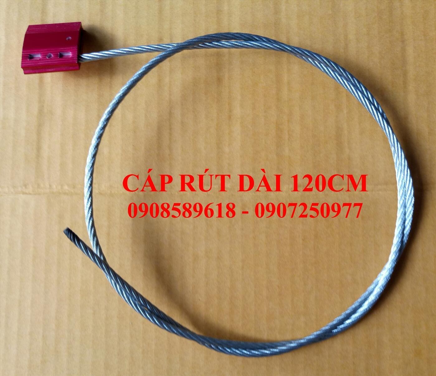 Seal dây cáp rút bản nhôm 120cm