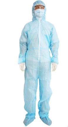 Bộ trang phục phòng dịch Thời Thanh Bình