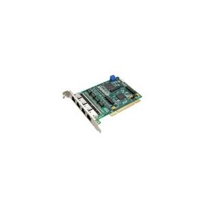 Card 4 luồng E1 chuẩn ISDN dùng cho các tổng đài IP Asterisk khe cắm PCI
