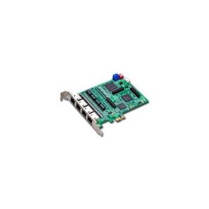Card 4 luồng E1 chuẩn ISDN dùng cho các tổng đài IP Asterisk khe cắm PCIe
